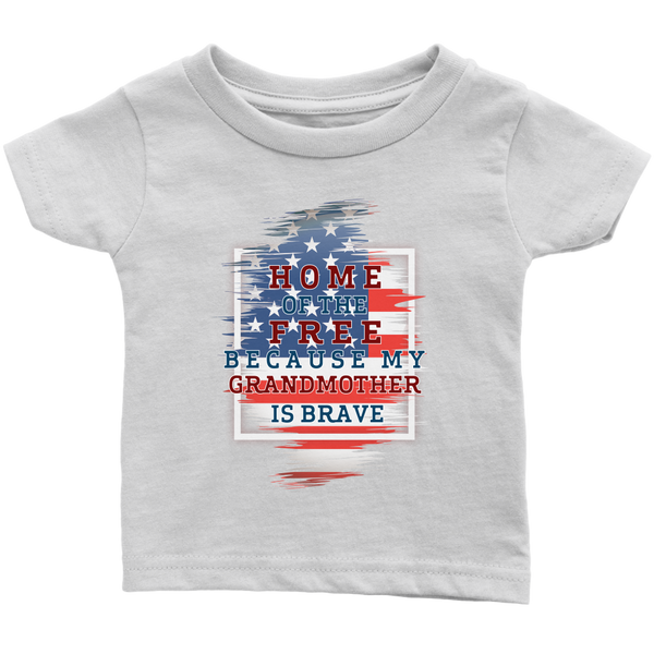 Brave Grandmother Infant T-Shirt