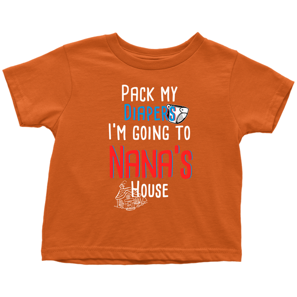 Pack my diapers T-Shirt