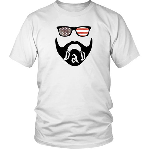 USA Beard Dad T-Shirt