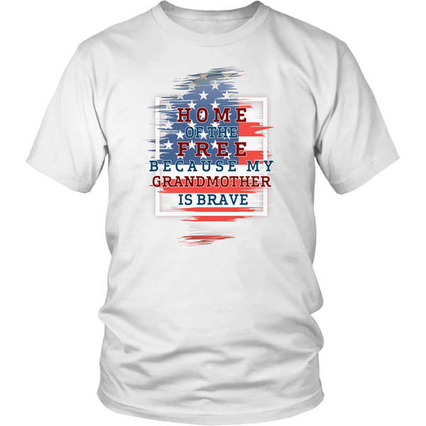 Brave Grandmother Adult T-Shirt