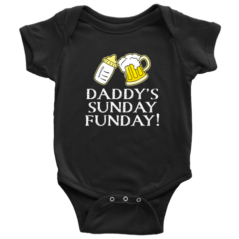 Daddy's Funday onesie