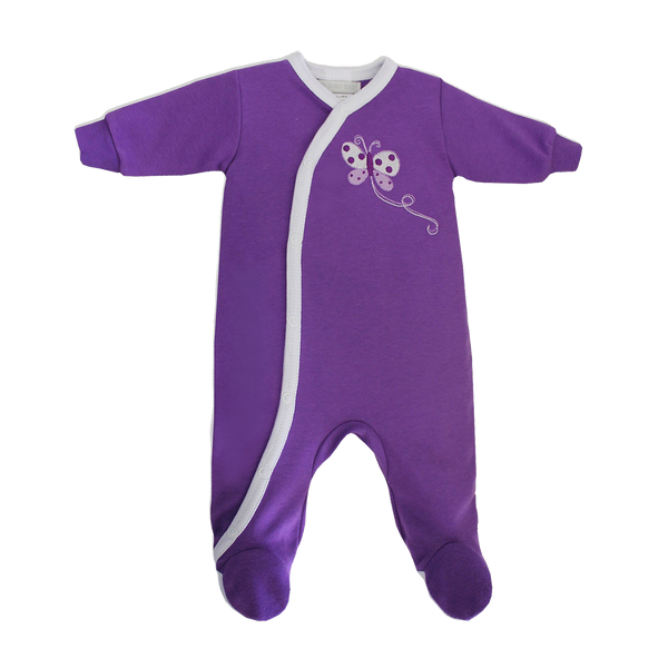 ECO Footie Butterfly Sleeper Set