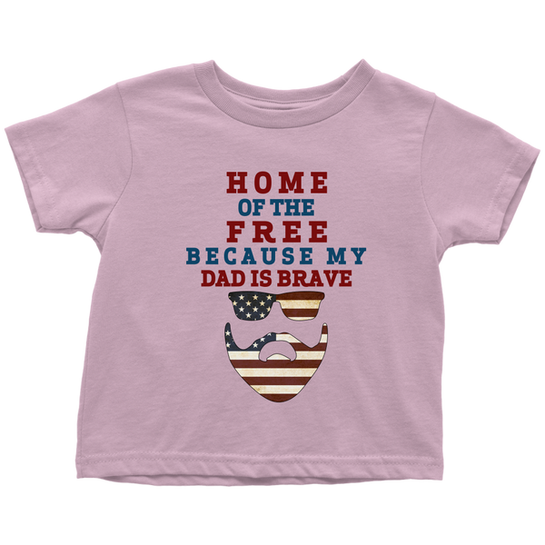 Brave Dad Toddler T-Shirt