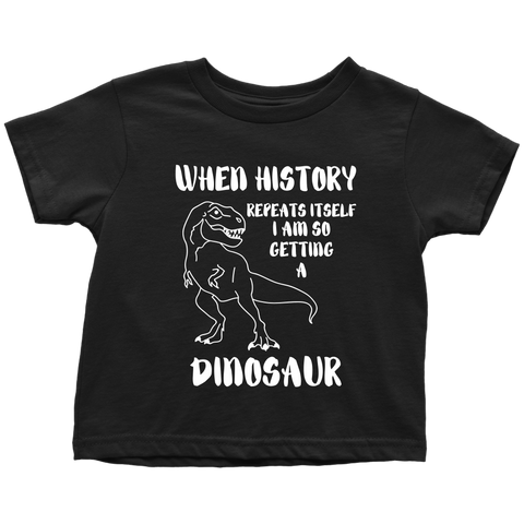 Dinosaur Toddler T-shirt