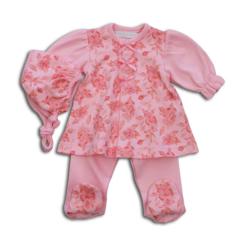 Garden Party Dress Set pink