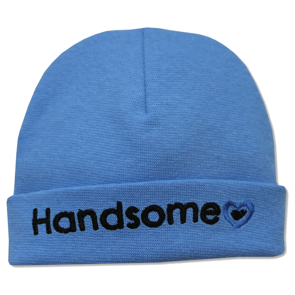 EMBROIDERED HAT HANDSOME