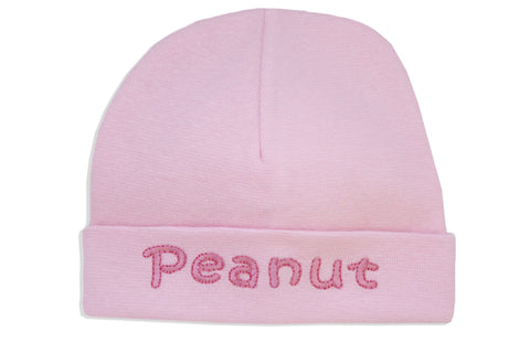 EMBROIDERED HAT PEANUT