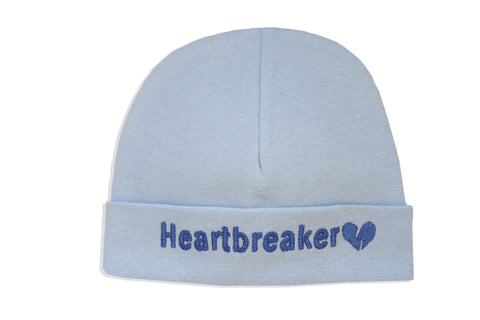 EMBROIDERED HAT HEARTBREAKER BLUE