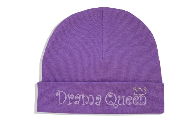 EMBROIDERED HAT DRAMA QUEEN