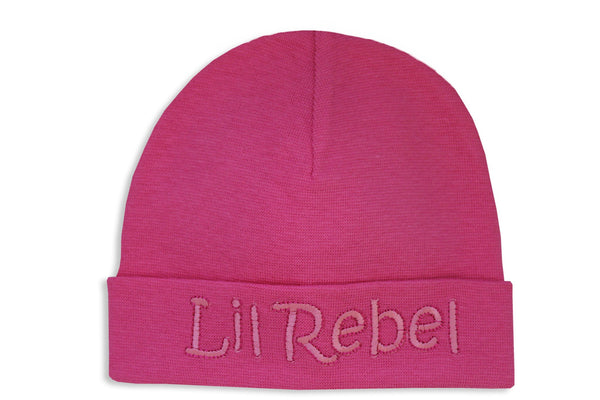 EMBROIDERED HAT LIL REBEL Fuchsia