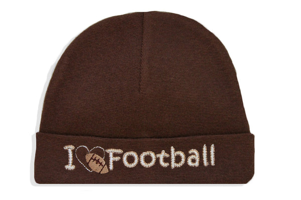 EMBROIDERED HAT FOOTBALL