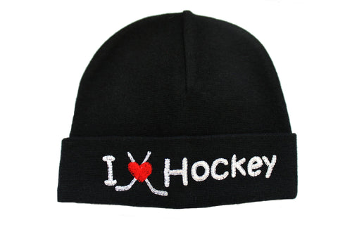 EMBROIDERED HAT HOCKEY