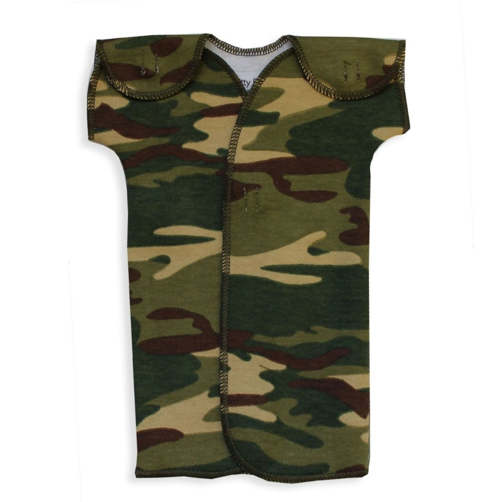NICU GOWN CAMOUFLAGE