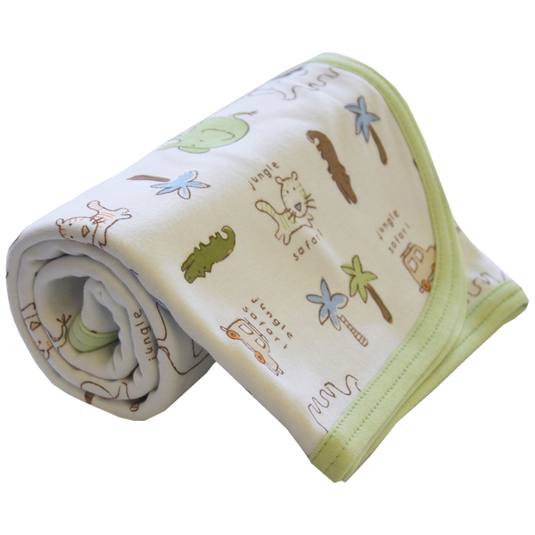 Jungle Swaddle Blanket