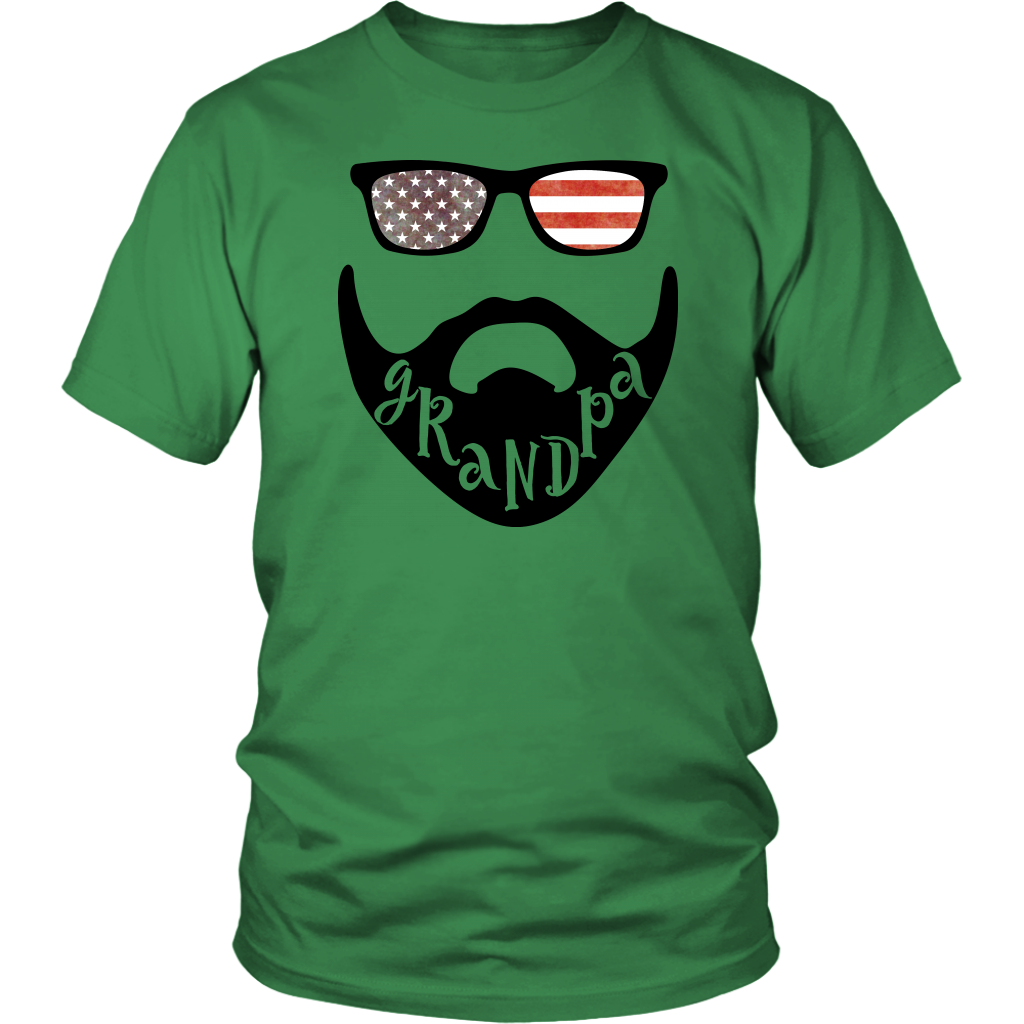 USA Beard Grandpa T-Shirt