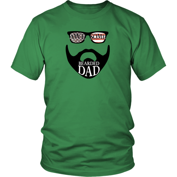 Awesome Bearded Dad T-Shirt
