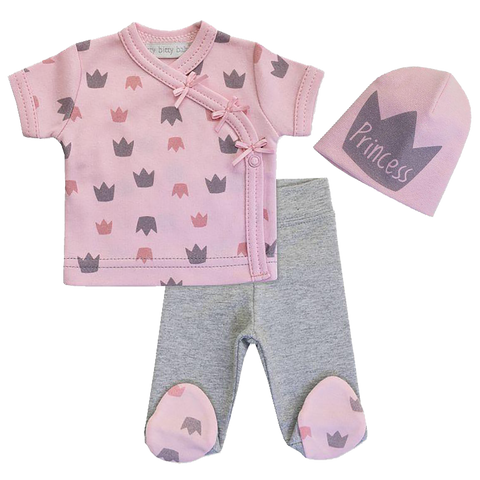 Princess Layette set