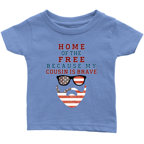 Brave Cousin Infant T-Shirt