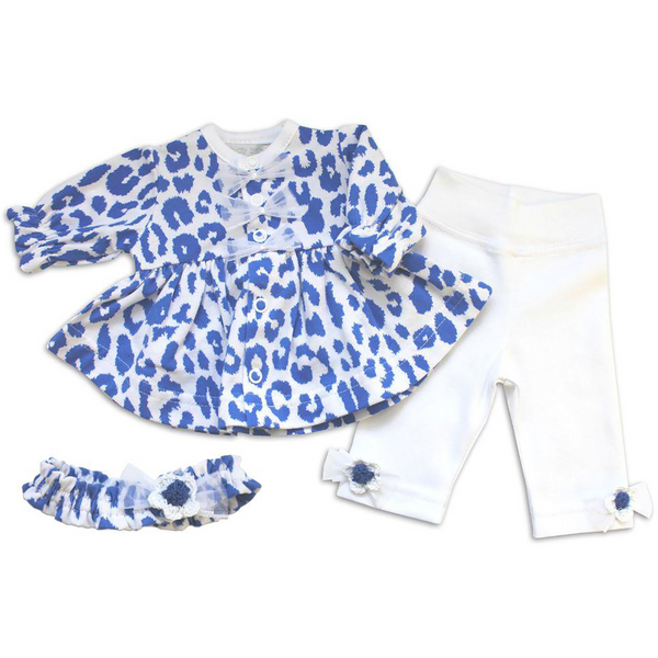 Snow Leopard Dress set