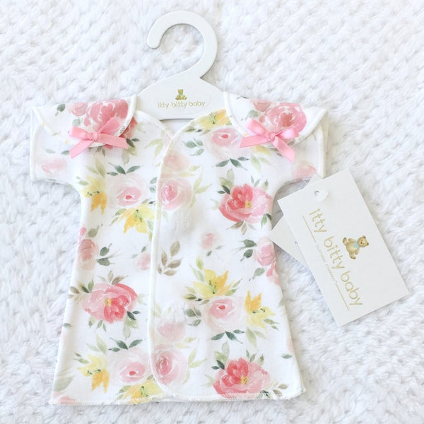 NICU Fit & Flare Dress Watercolor Floral