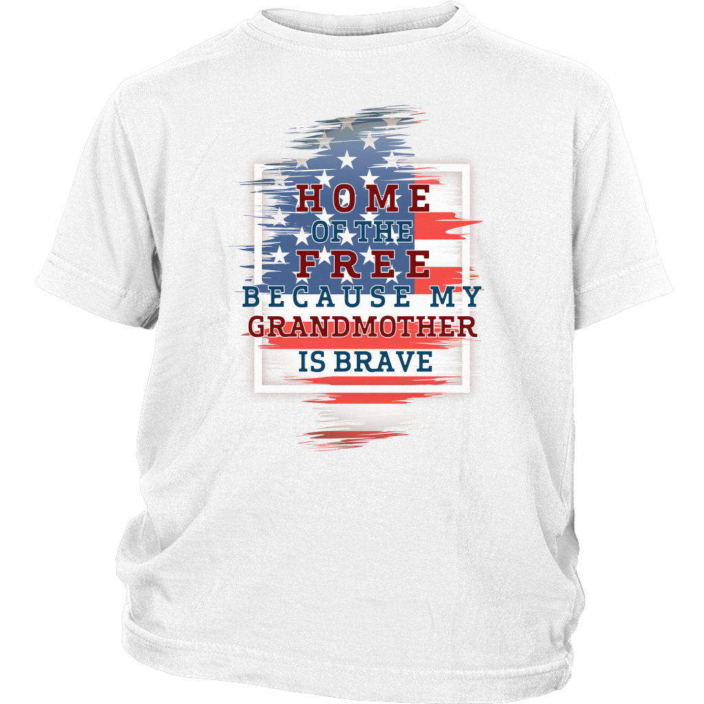 Brave Grandmother Youth T-Shirt