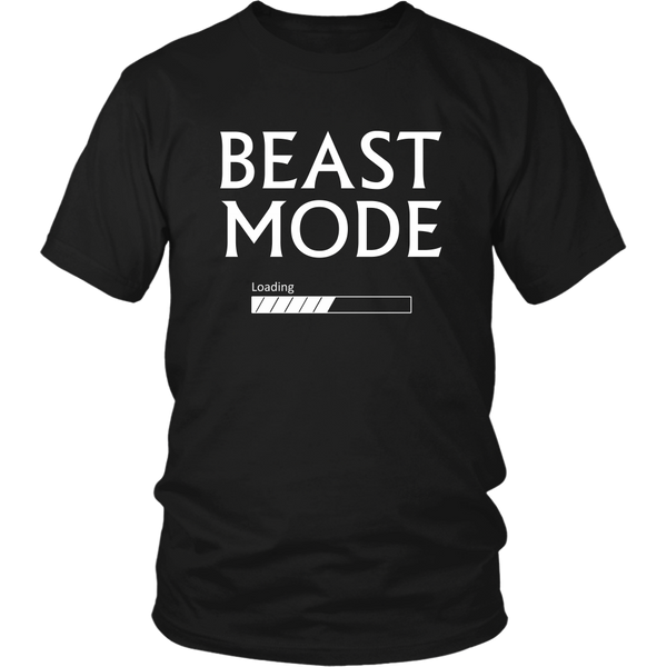 Beast Mode Loading W T-Shirt