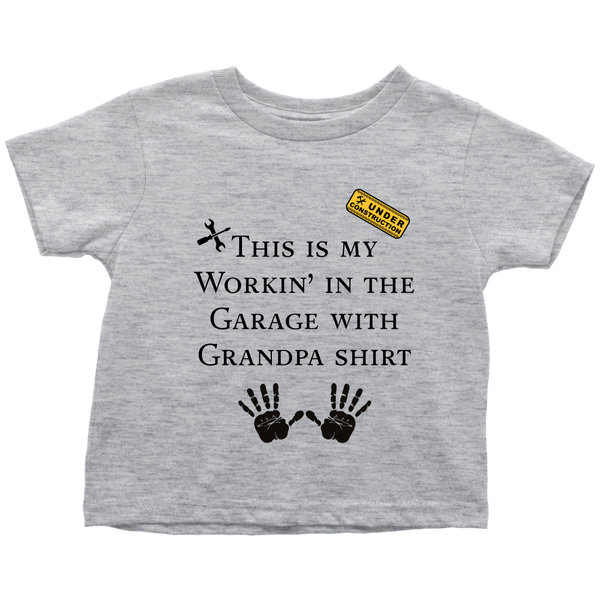 Working with Grandpa Toddler T