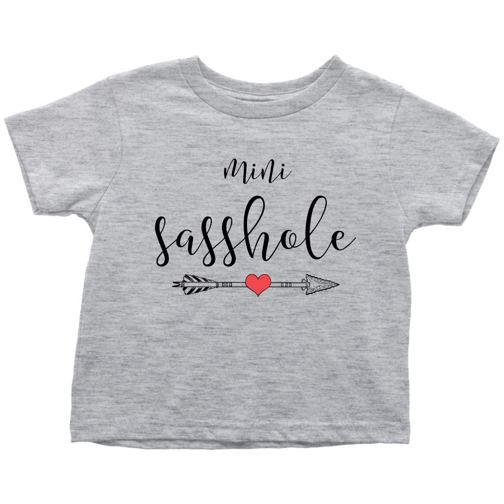 Mini sasshole toddler T-shirt