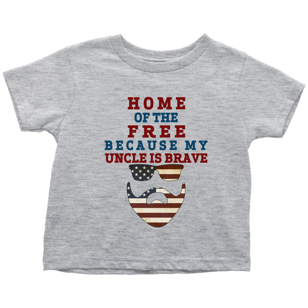 Brave Uncle Toddler T-Shirt