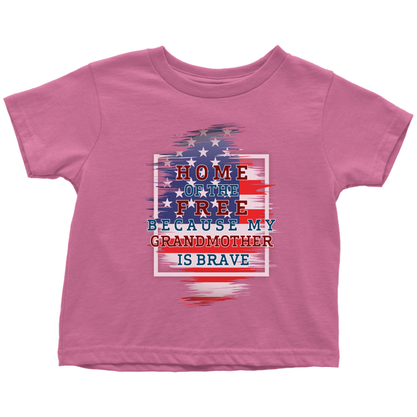 Brave Grandmother Toddler T-Shirt