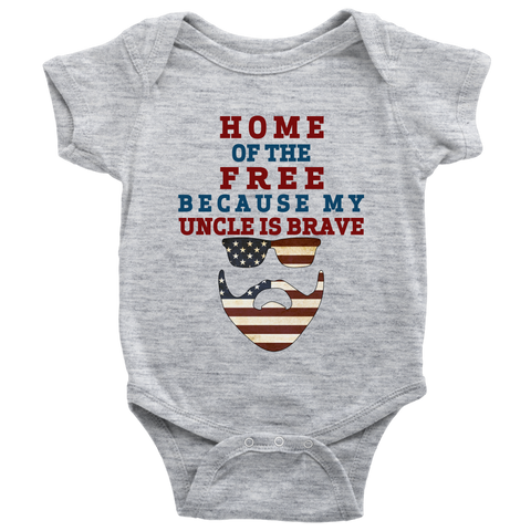 Brave Uncle Onesie