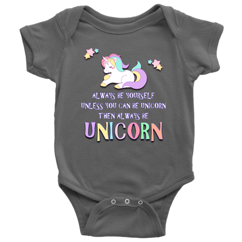 Always Be Unicorn onesie