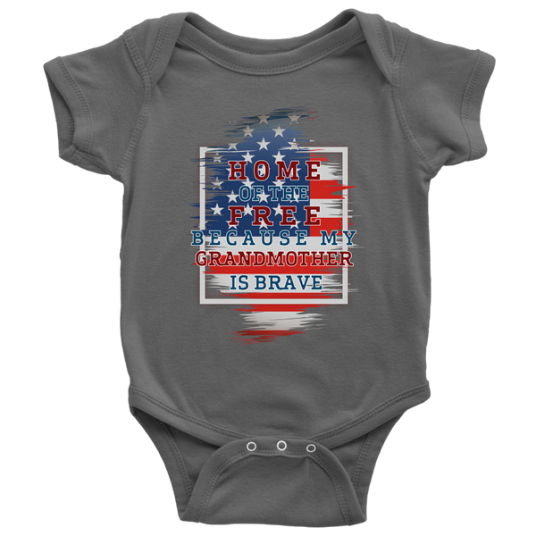 Brave Grandmother Onesie
