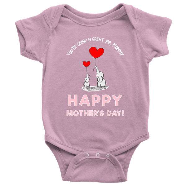 Happy Mother's Day P onesie