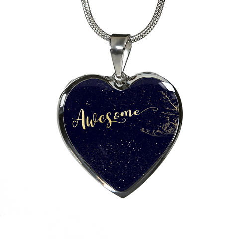 Awesome Heart Necklace