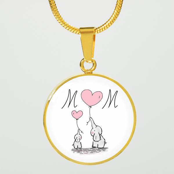 Mom Circle Necklace