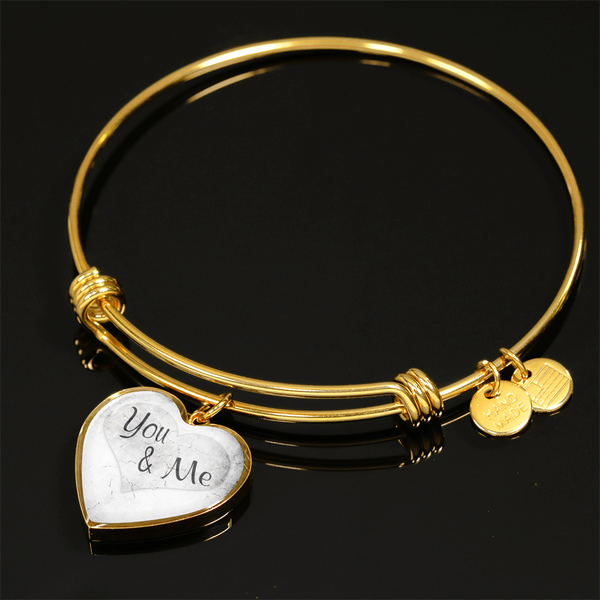 You & Me Gold Necklace