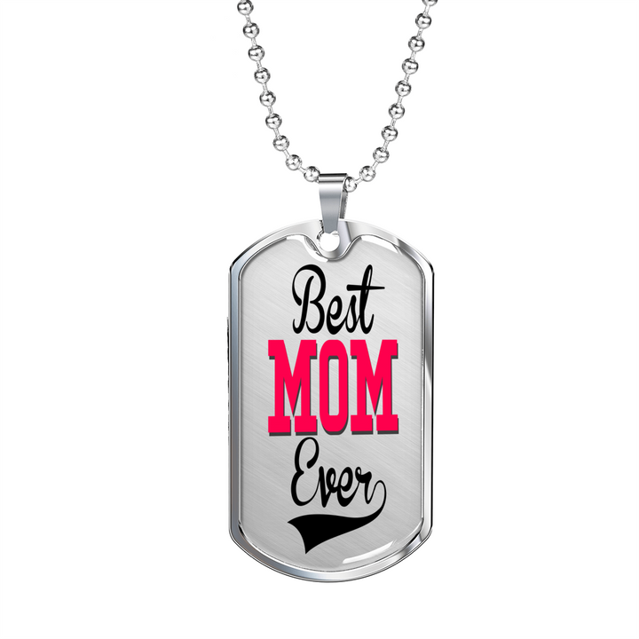 Best Mom Ever Engraving
