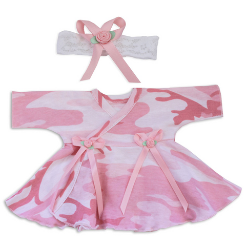 NICU Dress & Headband set