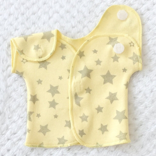 NICU T-SHIRT YELLOW STARS
