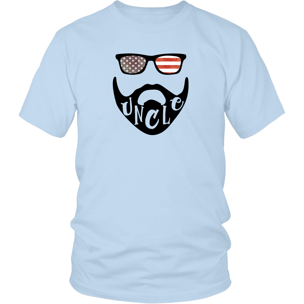 USA Beard Uncle T-Shirt
