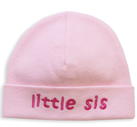 EMBROIDERED HAT LITTLE SIS