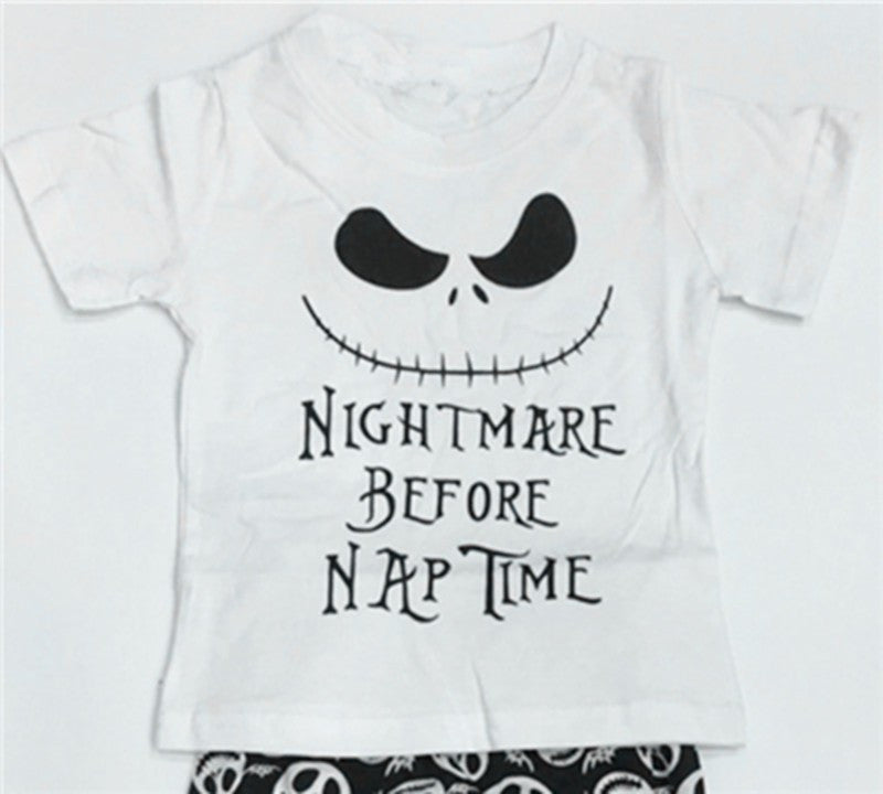 """Nightmare Before Nap"" 2pcs set"