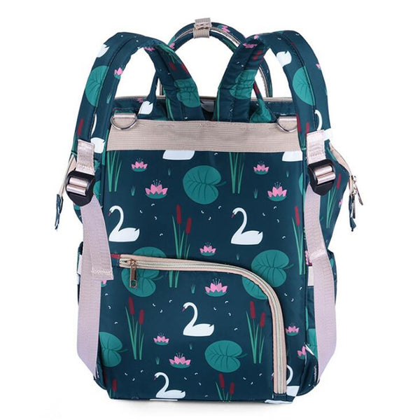 Diaper Backpack Flowers