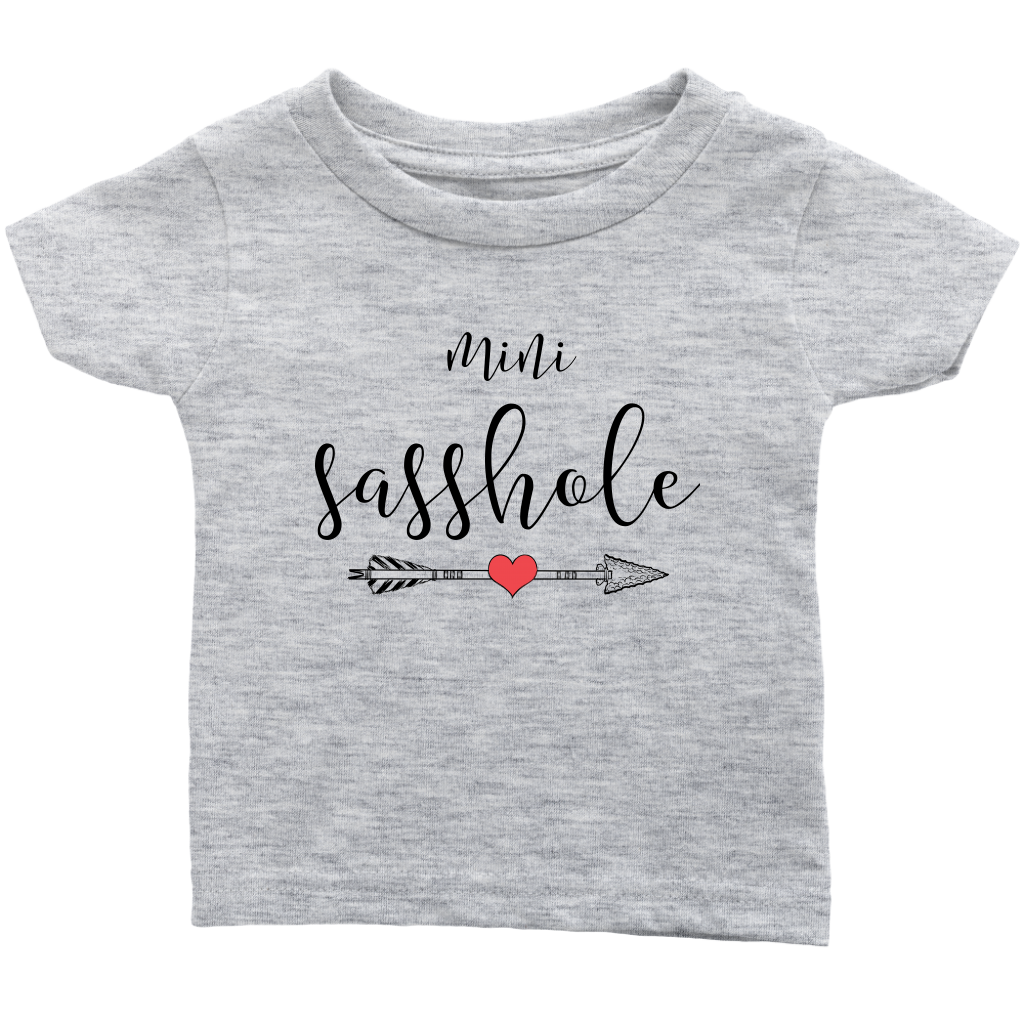 Mini sasshole infant t-shirt