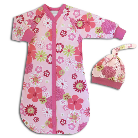 Retro Flowers Sleep Sack