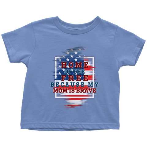 Brave Mom Toddler T-Shirt