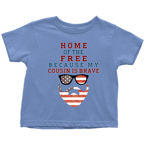 Brave Cousin Toddler T-Shirt