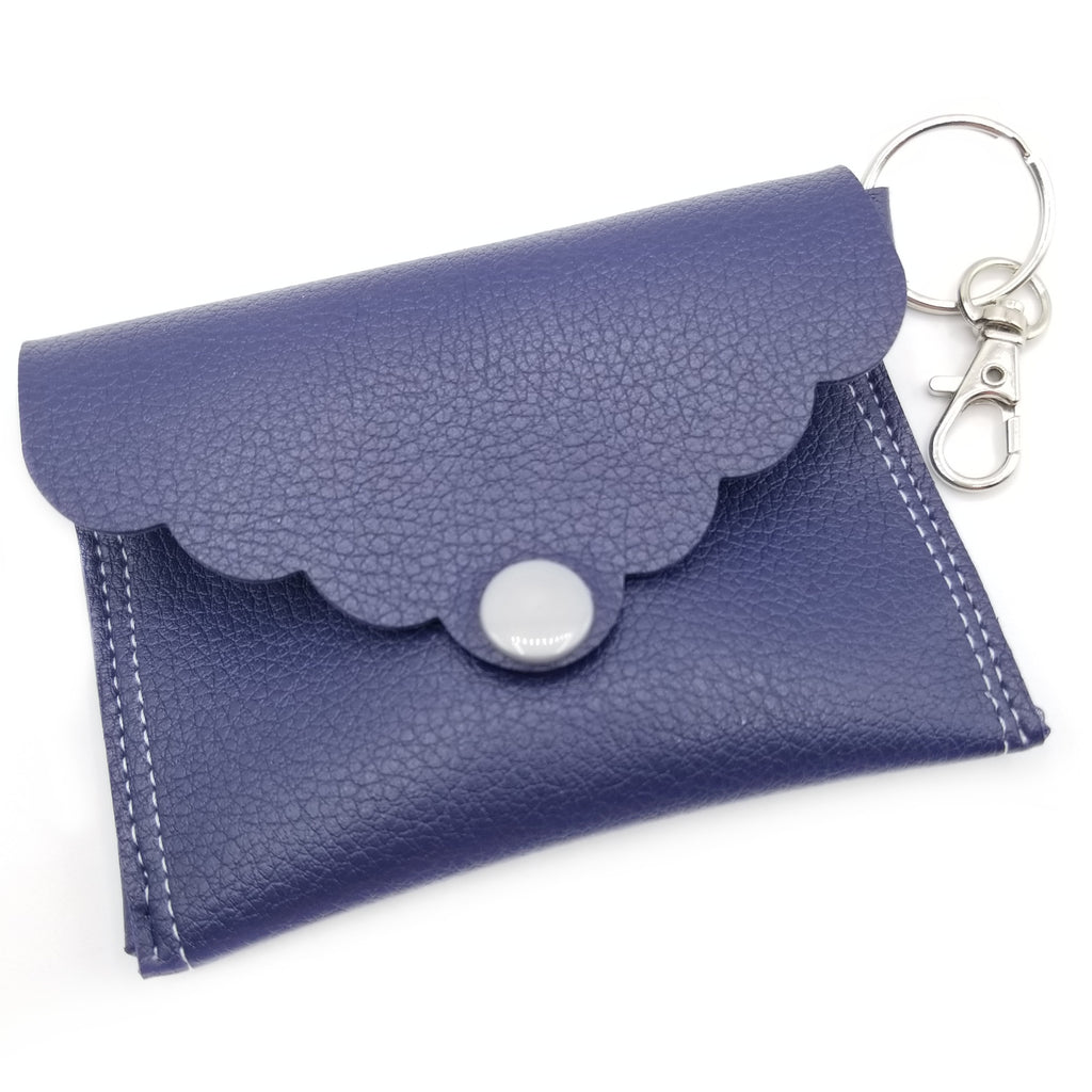 Navy Mini Clutch