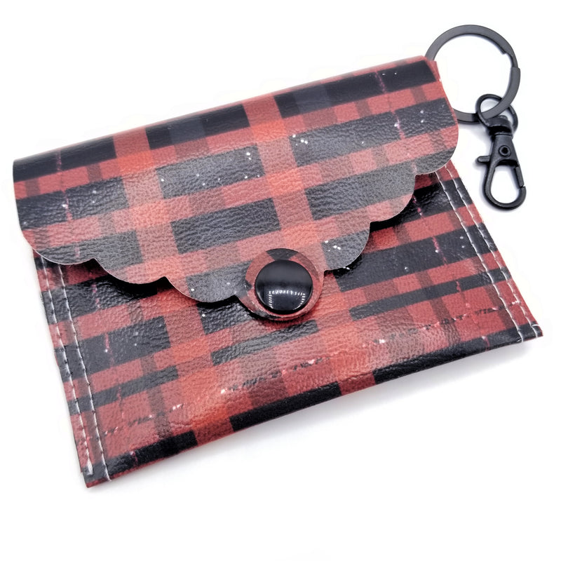 Buffalo Plaid Mini Clutch